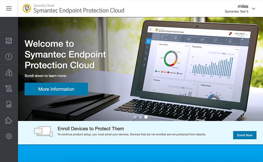 Symantec Endpoint Protection Cloud.