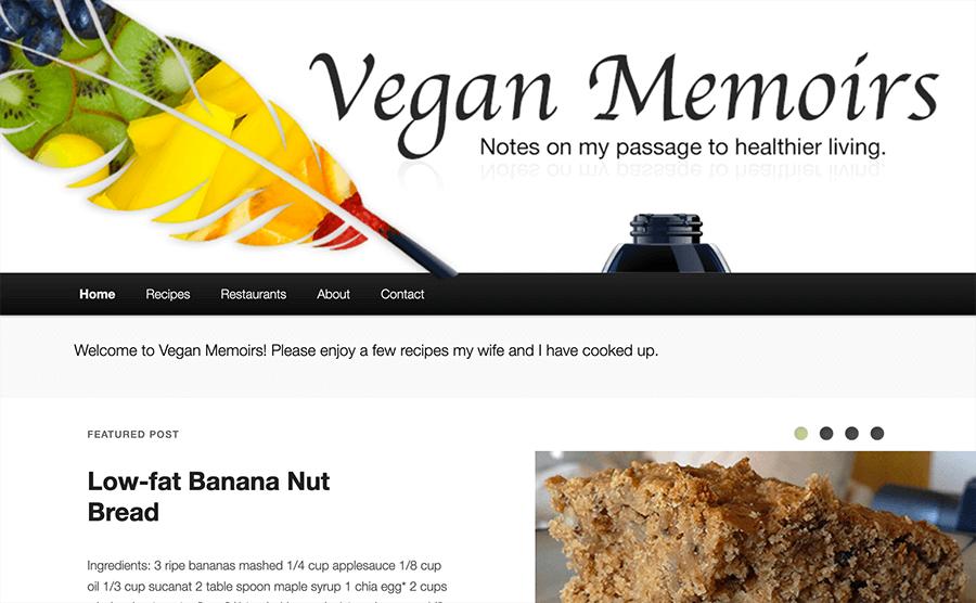 Vegan Memoirs.